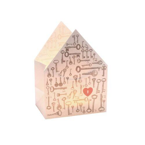 Good old friends Hauslichttüte Schlüssel zum Herz