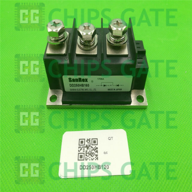 1PCS NEW DD250HB120 or DD250HB160 SANREX POWER MODULE