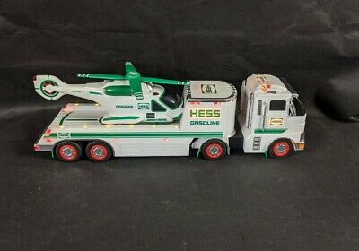 NIB from large collection 2006 HESS Toy Truck and Helicopter
