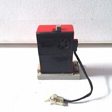 TOMY Vintage Red Gas Pump Still Works No Front