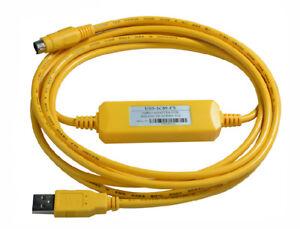 Details about USB-SC09-FX PLC Programming Cable for FX1N/FX2N/FX1S/FX3U  Series PLC