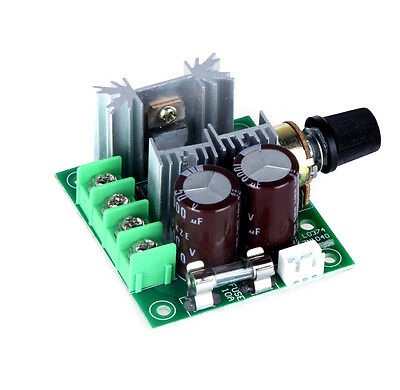 10A Pulse Width Modulation PWM DC Motor Speed Controller Switch 12V-40V 13KHz