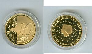 Niederlande  10 Cent  PP/Proof  (Wählen Sie zwischen den Jahrgängen: 1999-2019)