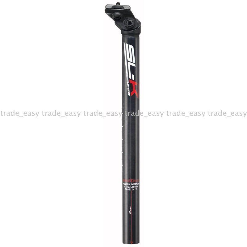 NEW FSA SLK UD carbon seatpost 27.2 350mm SB20 MTB Maintain Bike seat post rosso