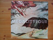 "MEGA CITY FOUR - IRON SKY - 10"" VINYL SINGLE + POSTER"