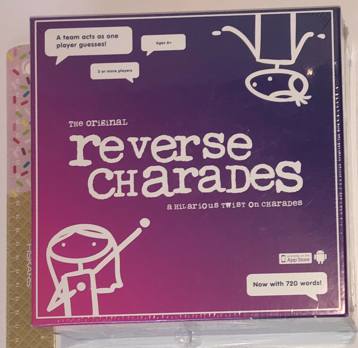 The Original Reverse Charades KNYXX BRe nuovo SEALED RARE  viola scatola VHTF   popolare