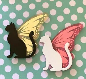 Gorgeous-Butterfly-Cat-Acrylic-Brooch-Choose-Colour