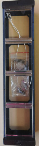 Siedle Montagerahmen MR 514-0 B braun MR514 Rahmen NEU mit Schlüssel Schrauben