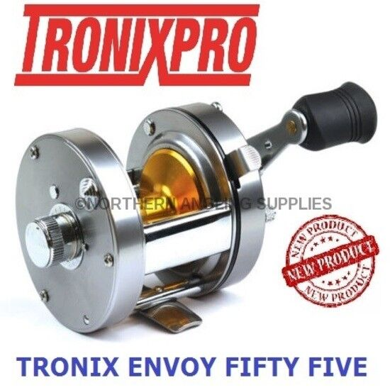 Tronixpro 55 Envoy 55 Tronixpro - Fifty Five Multiplier Fishing Reel Left or Right Hand Model 20f42b