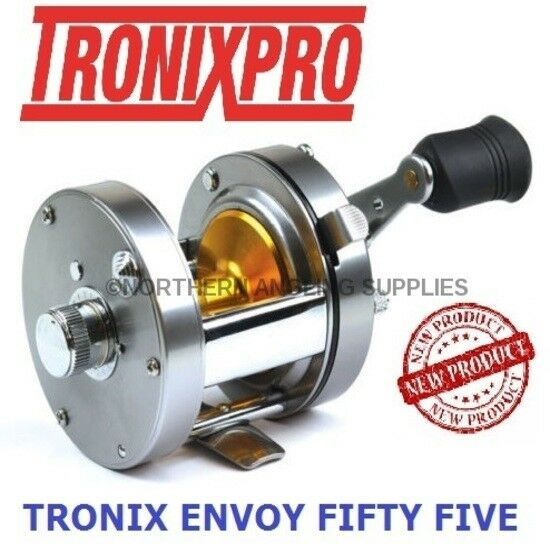 Tronixpro Envoy 55 - Fifty Five Multiplier Fishing Reel Left or Right Hand Model