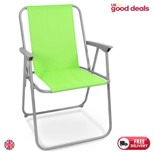 Folding Patio Beach Chair Seat Camping Deck Garden Outdoor Picnic Lightweight