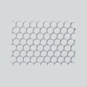 "90° Honeycomb Grid - DIY - 2.5""x 3.5"" - Diffuser, Black finish"