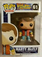 Back To The Future Marty McFly 61 Funko Pop! Licensed Vinyl Figure Brand New