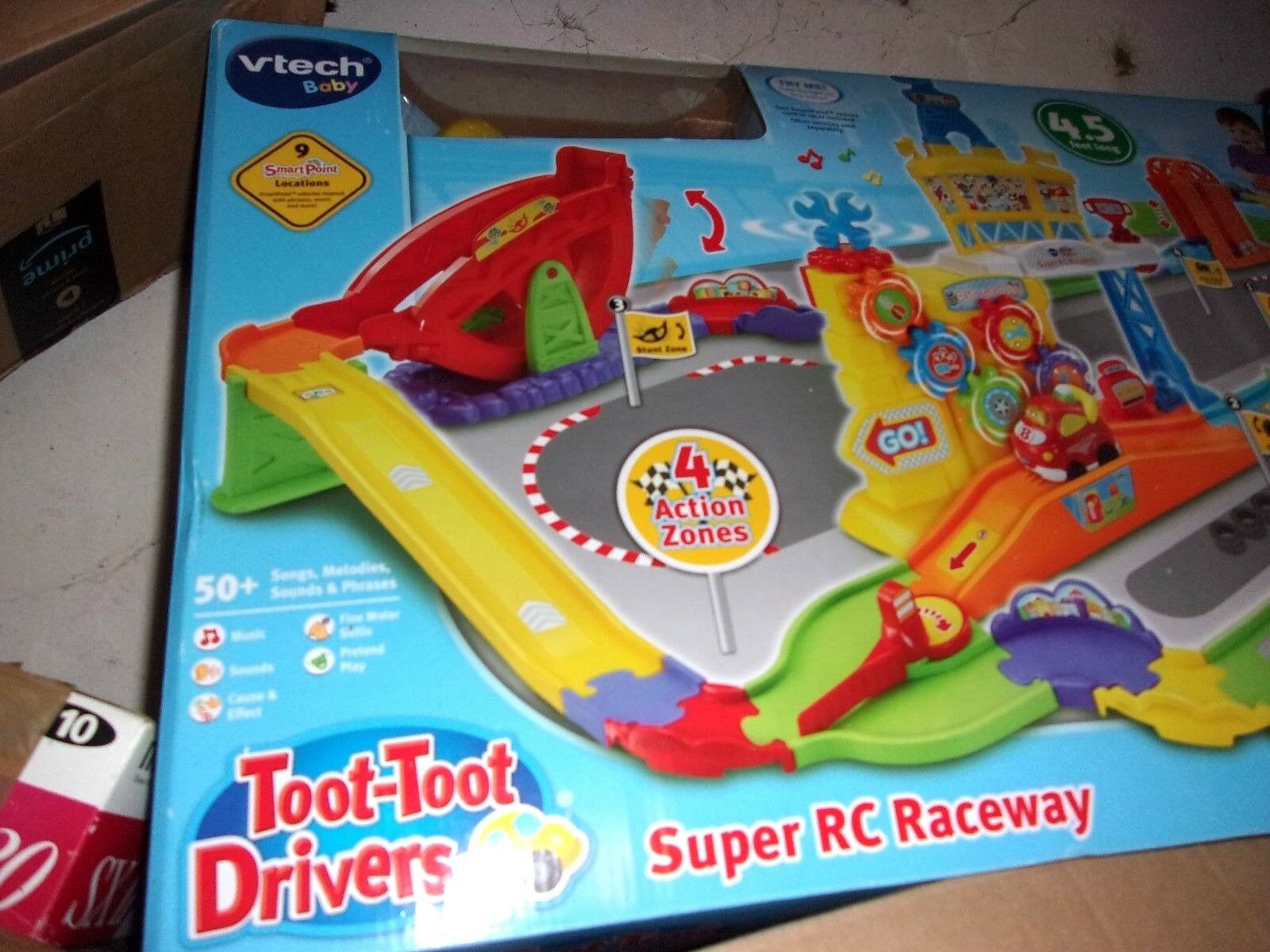 VTech Toot Toot Drivers Super RC Raceway Playset ; New & Boxed