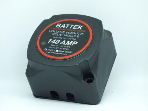 Single Sense Smart Battery Isolator for Battery Banks VSR Automatic Isolation