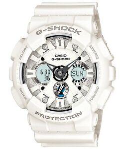 Casio G Shock *GA120A-7A Anadigi Watch XL Matte White Resin Men COD PayPal