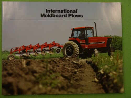 1982 International Harvester Moldboard Plow Brochure