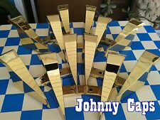"Baccarat Wheels ""Phang"" Gold Insert #6502295F-2 Custom Wheel Gold Inserts (6)"