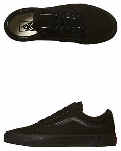 Vans-Shoes-Old-Skool-Black-Black-USA-SIZE-Mens-Skateboard-Sneakers