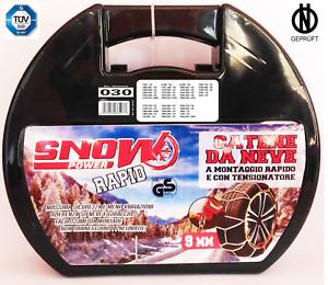 Catene da neve Omologate ITA  9 mm  GRUPPO 30 tutte le misure delle in foto 2