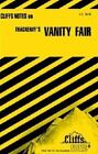 Vanity Fair by Cliffs Notes Staff (1964, Paperback)