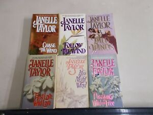 6-JANELLE-TAYLOR-WESTERN-WIND-COMPLETE-LOVE-PASSIONS-KISS-NIGHT-FOLLOW-WIND
