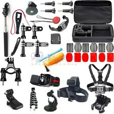 34in Head Chest Mount Movement Run Accessories Kit For GoPro Hero 2 3 4 5 Camera