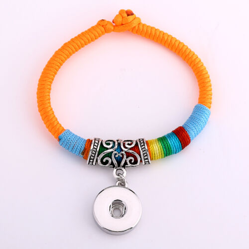Hot Bracelets Drill fit For Noosa Snaps Chunk Charm Button U PICK