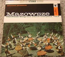 """Album By Mazowsze, """"The Polish Song & Dance Co2"""" on Mon"""