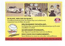 FLOC'H. Publicité pour Quick Chicken Dips - réf. 7/103