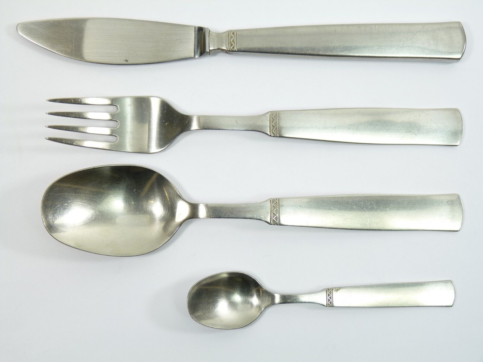 GENSE Cutlery -  RANKA  Design - 4 Piece Set