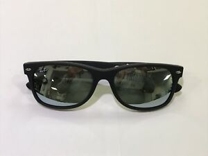 fd688ad513 NEW Ray Ban NEW WAYFARER RB2132 (622 30) Matte Black Silver Lens ...