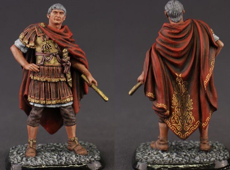 Tin toy soldiers ELITE painted 54 mm  Marcus Ulpius Traianus. Roman Emperor, 53-