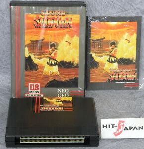 SAMURAI-SHODOWN-US-Version-NEO-GEO-AES-Ref-2001-SNK-FREE-SHIPPING