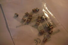 F400MA250V(F400MAL) FAST BLOW GLASS FUSE 5mm x 20mm (PACK OF 10)rs code 537-1256