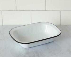 Rectangle-White-with-Black-Trim-Enamel-Bowl