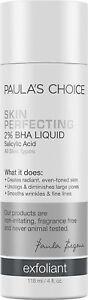 Paula's Choice Skin Perfecting 2% BHA Liquid 4 oz New - Free ship