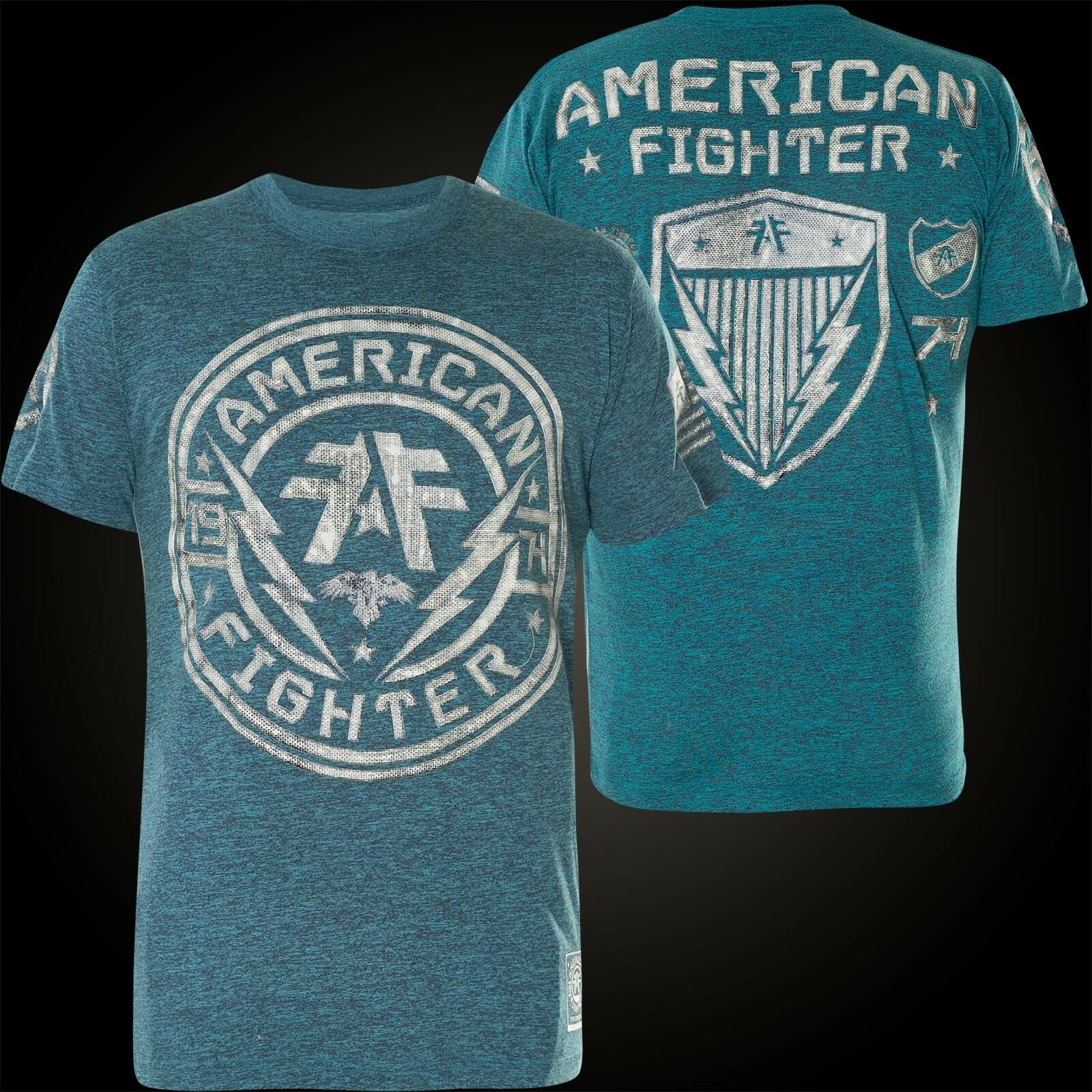 American Fighter Affliction T-shirt Langley Blu T-shirts