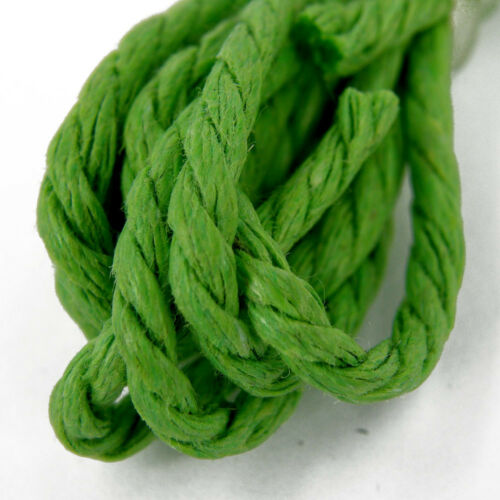 Yarn Macrame 10m Angel Doll Hair Rope 2mm Twisted Cotton Cord