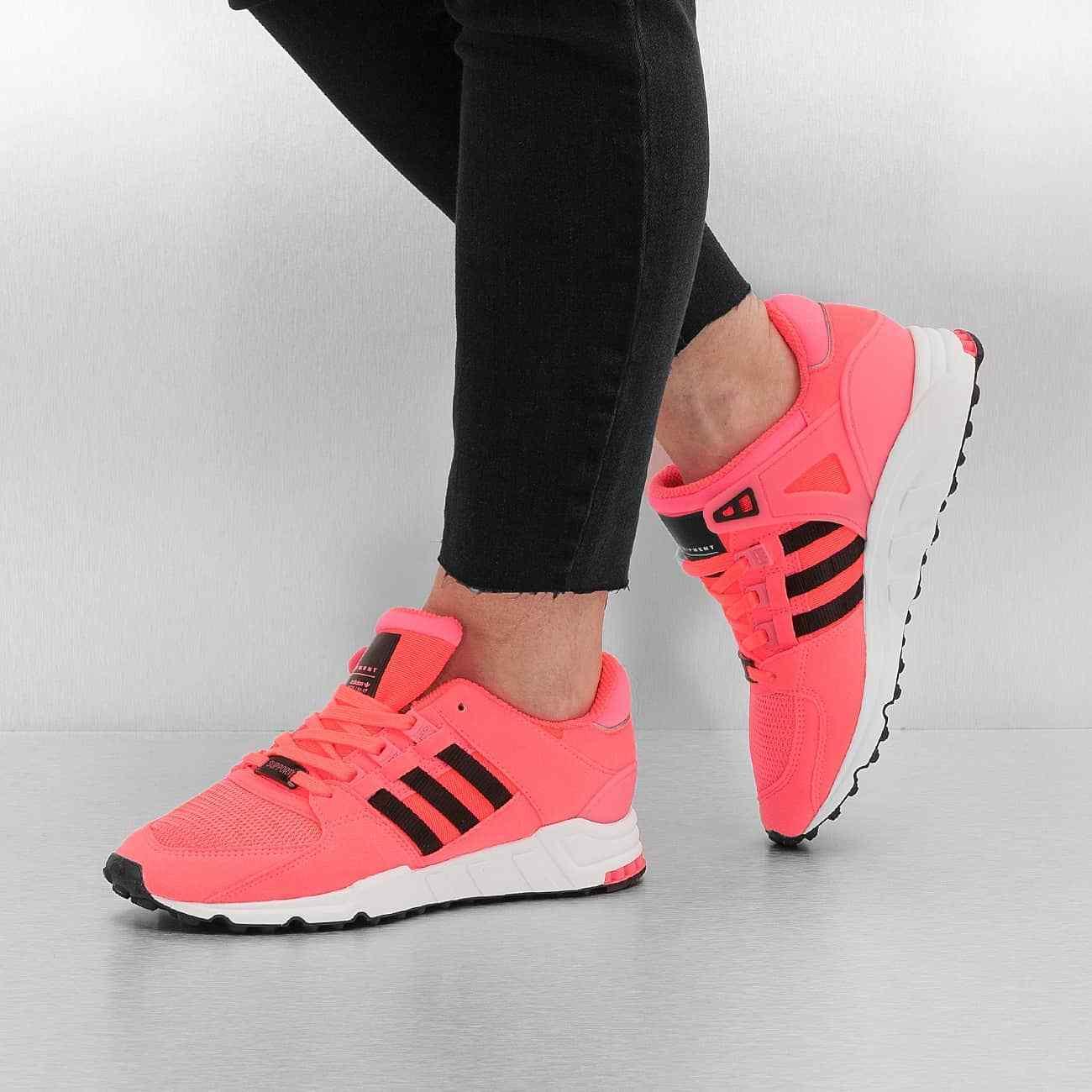 Adidas EQT Support RF 91-17 Equipment Turbo Red Black Men's Running Shoes 11.5