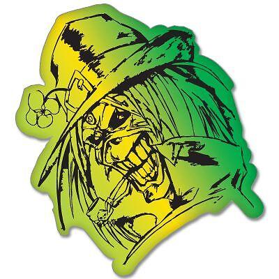 Select Size Iron Maiden Leprechaun Vynil Car Sticker Decal