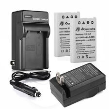 EN-EL5 Battery + Charger for Nikon Coolpix P500 P510 P520 P530 P80 P90 P100