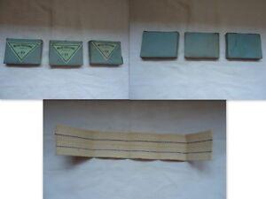 3-ANCIENNES-MECHES-PLATES-PARISIENNE-N-10-1RE-QUALIT-COTON-LAMPE-A-PETROLE-49-MM