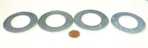 4 large steel cad plated washers 2 1//2 x 1 3//8 x  5//32 construction grade washer