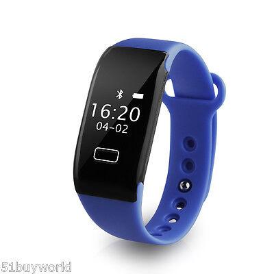 DIGGRO Bluetooth 4.0 Fitness Sport Fitness Tracker Orologio Da Polso Anti-lost