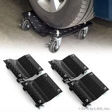 "4 X 3"" Set Tire Wheel Dollies Dolly Vehicle Car Auto Repair Moving Diamond 4 PCS"