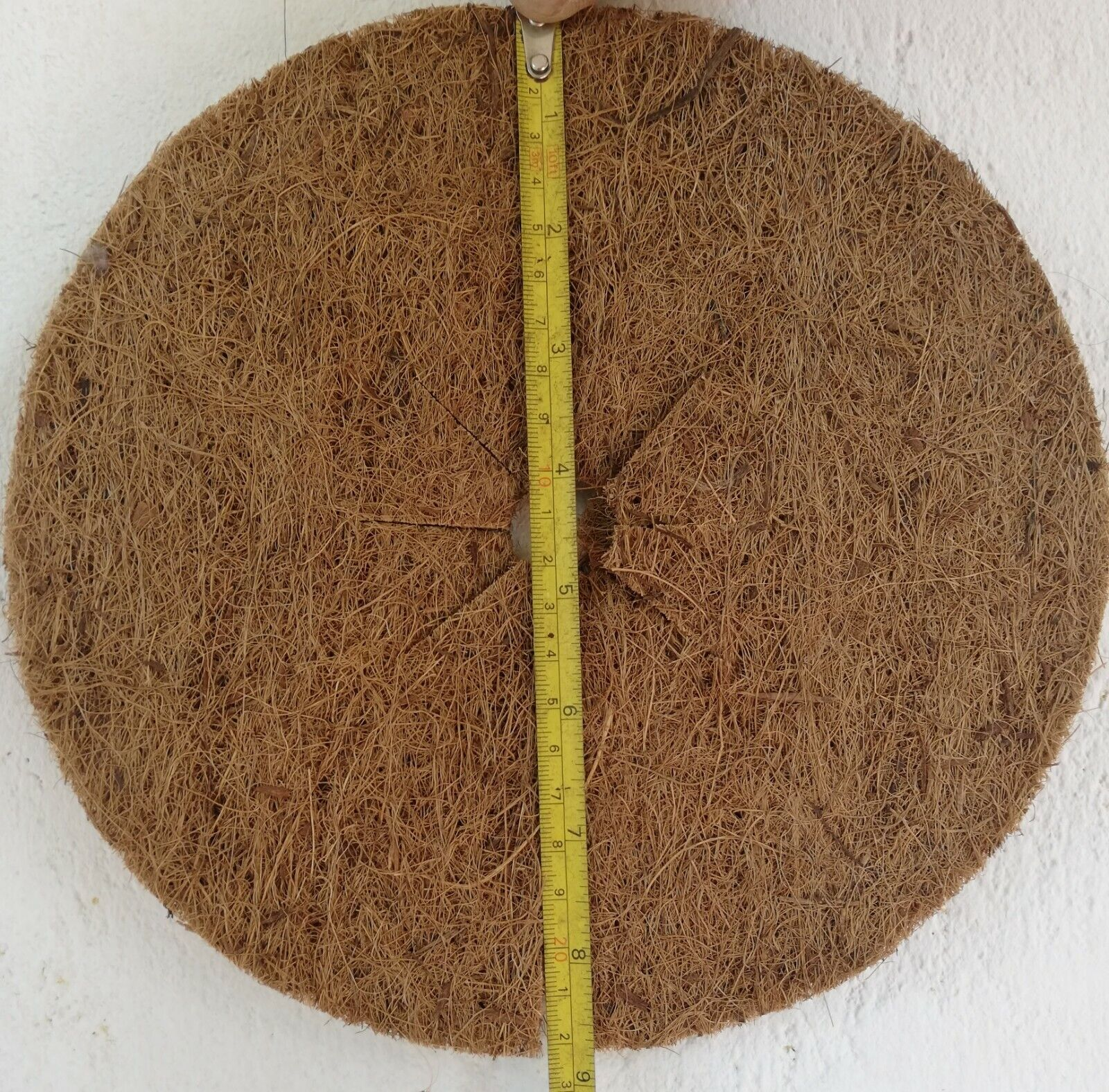 Soil Moisture Retainer Fiber Mat Plant Growth Support Eco Friendly 5Mats at Once