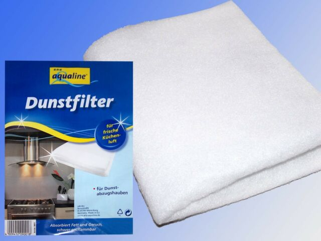 Aqualine dunstabzugshauben filter dunstfilter fettfilter vlies ebay
