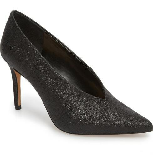 Vince Camuto Women's Ankia Pointy-Toe Pump Size 10M Black, MSRP