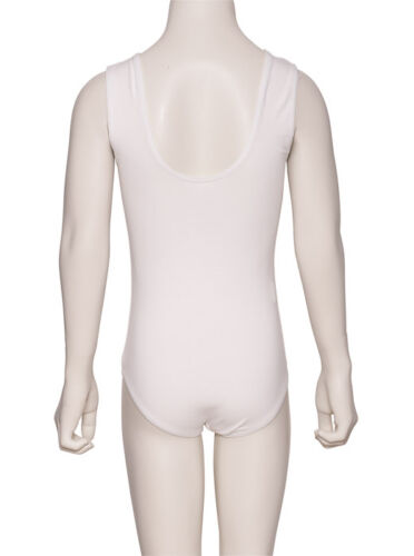 All Colours RAD ISTD Sleeveless Cotton Ballet Dance Leotard KDC036 By Katz